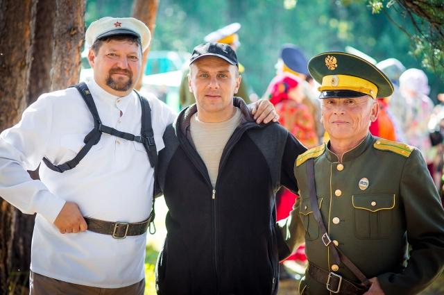 Дмитрий Головин на фестивале
