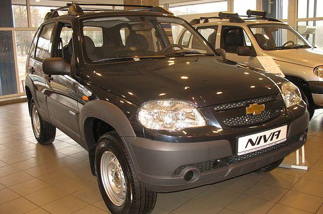 Chevtolet Niva.