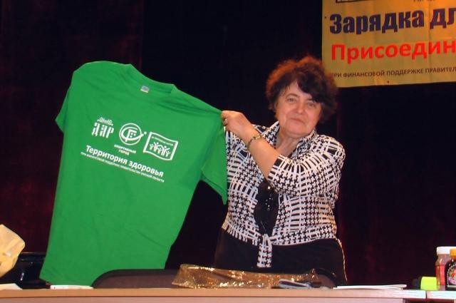 Татьяна Борисовна часто проводит массовые мероприятия.