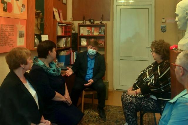 Вячеслав Григорьев поговорил с педагогами о патриотическом воспитании школьников.