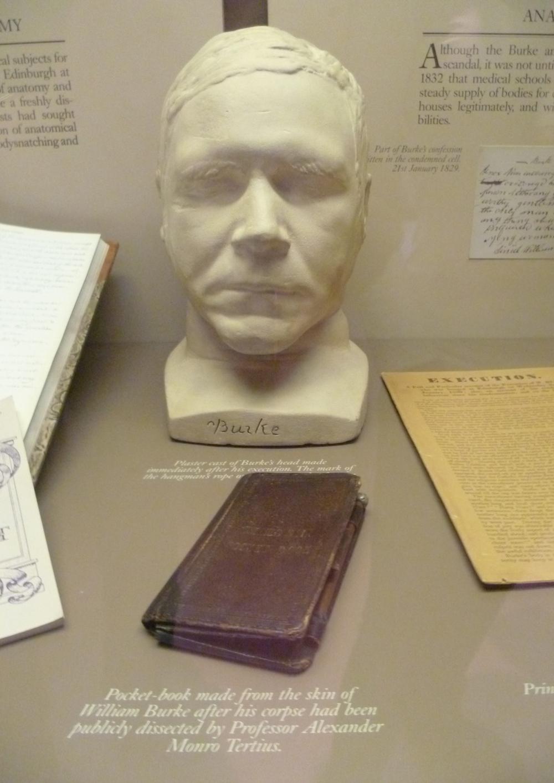 Книга, обтянутая кожей Уильяма Берка.