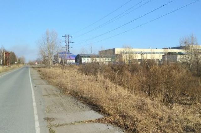 Заброшенный завод, который восстановят.