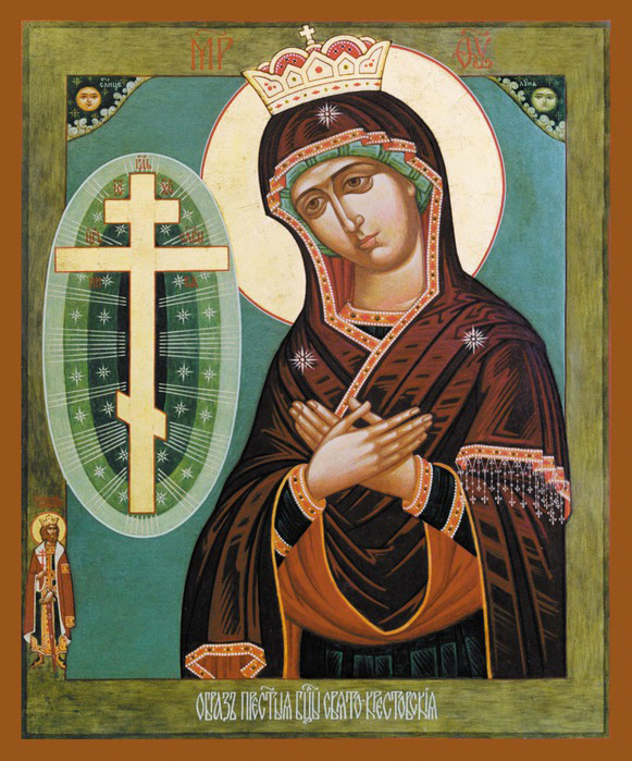 Свято-Крестовская икона Божией Матери