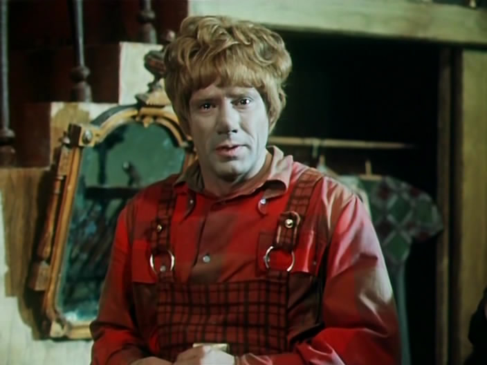 Спартак Мишулин в телеспектакле «Малыш и Карлсон, который живёт на крыше»