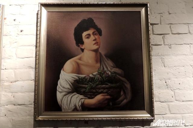 Юноша на холсте Караваджо держит в руках артишоки вместо фруктов.