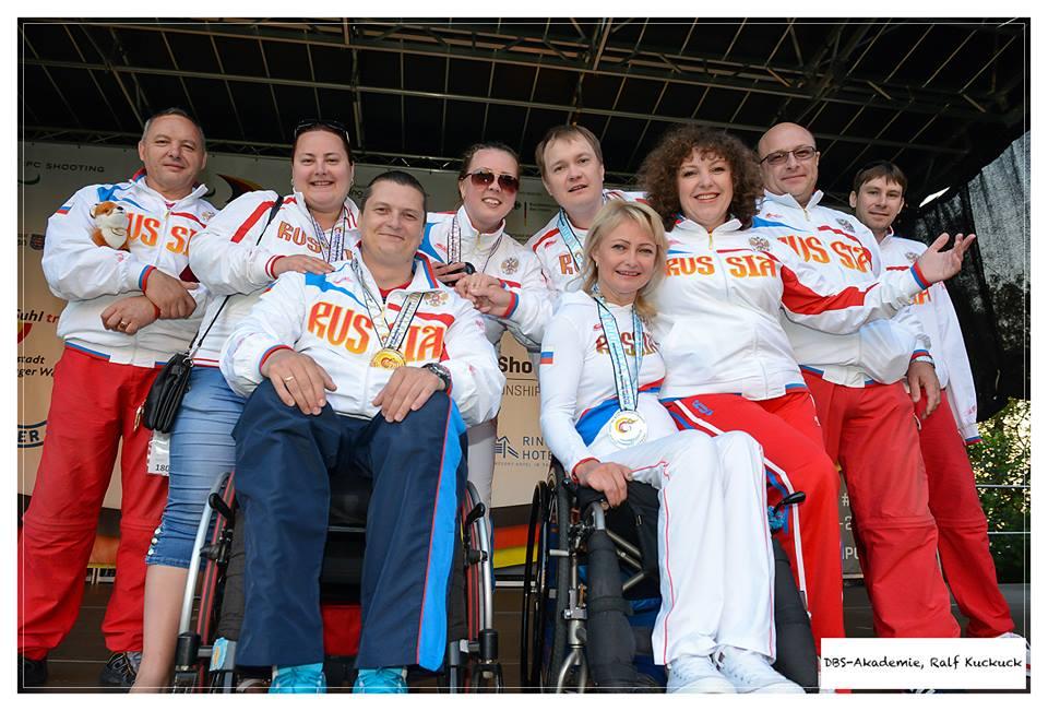 Андрей Кожемякин стал членом паралимпийской сборной по стрельбе
