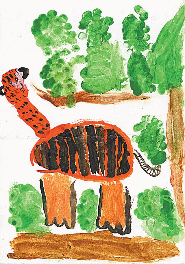 Рисунок участника конкурса.
