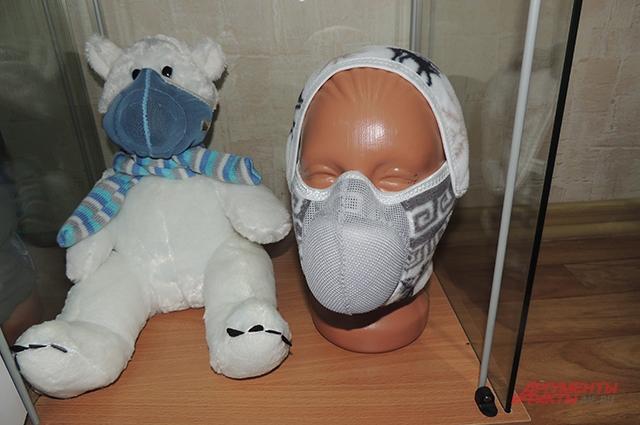 Дыхательные блоки внутри масок разные, в зависимости от направленности, говорят изобретатели