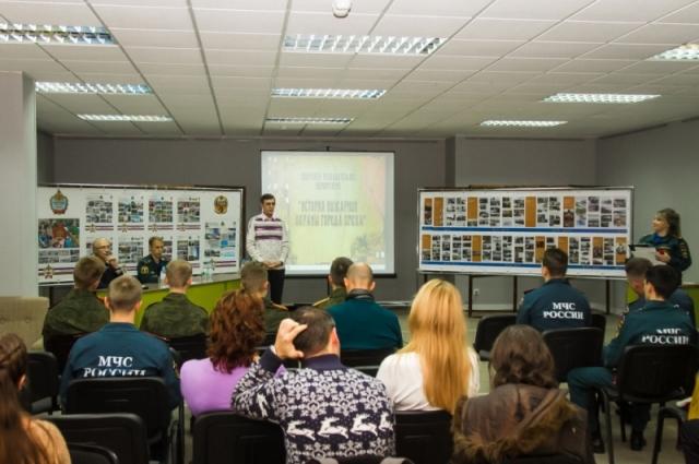 Участникам рассказали о пожарной безопасности в Омске.