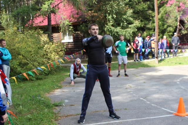 Дмитрий Кузяков стал лучшим в кроссфите.