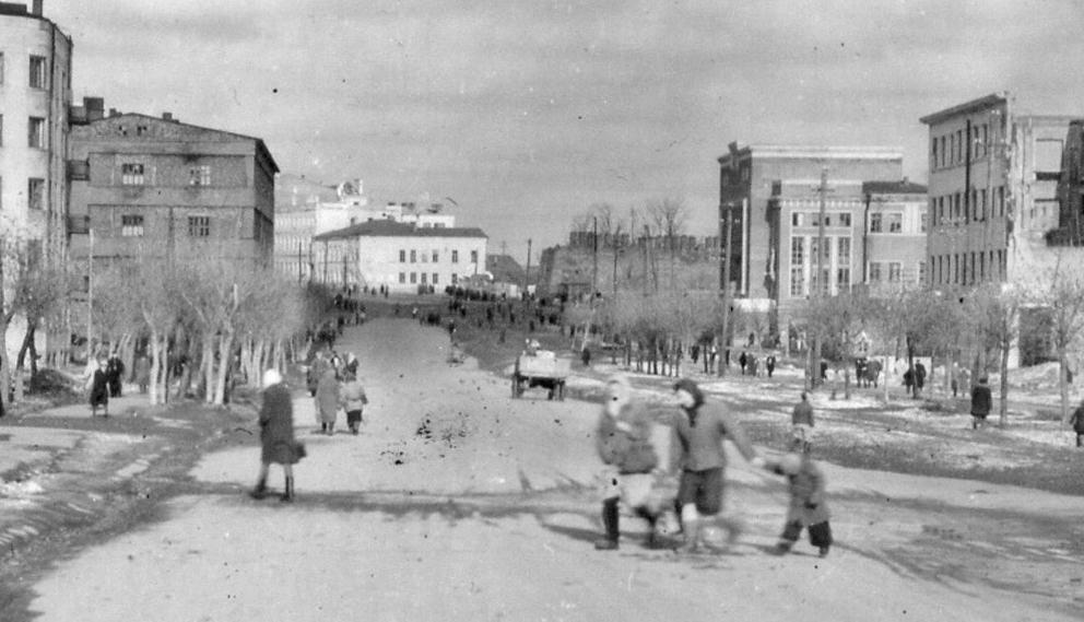 Киевское шоссе г. Смоленска.