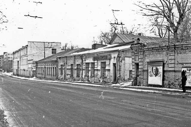Ул. Электрозаводская, 1980-е годы