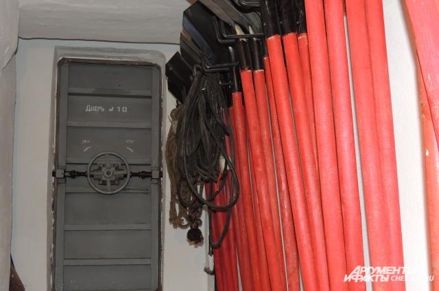 В укрытиях есть весь необходимый инструмент для предполагаемых спасательных работ