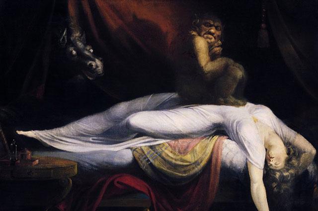 Иоганн Генрих Фюссли. «Ночной кошмар». 1781 год
