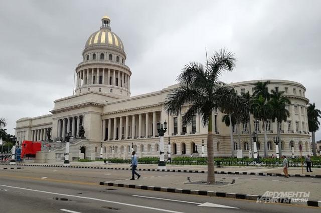 Национальный Капитолий в Гаване.