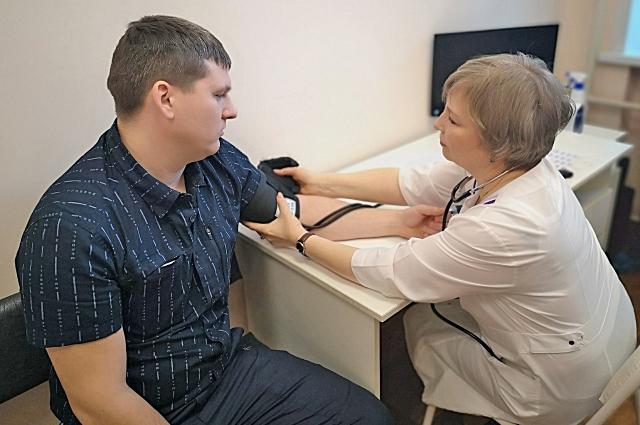 На приёме у врача Добров Андрей