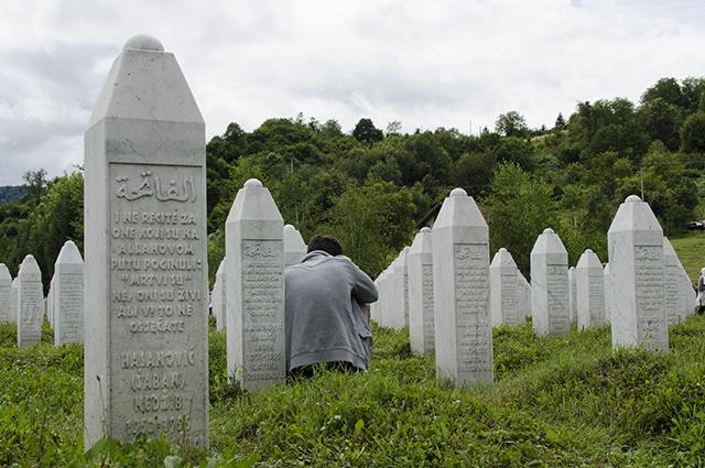 Мемориальное кладбище в Сребренице