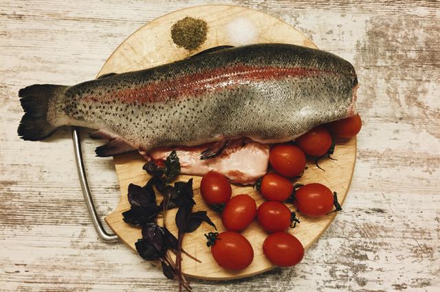 Рыба запеченная в духовке фото