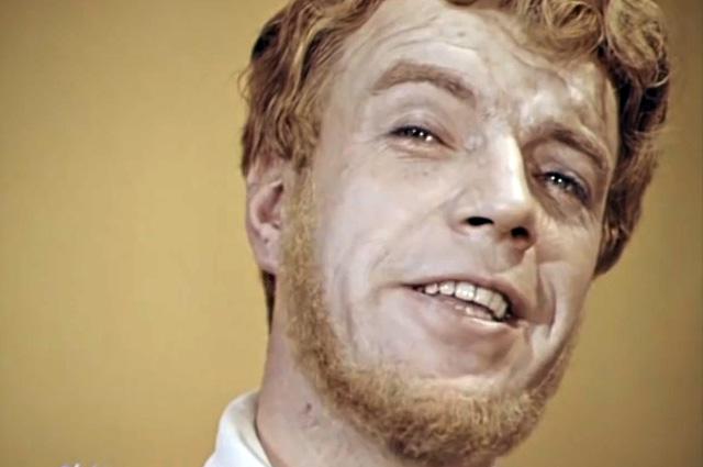 Вячеслав Шалевич в роли пана Поэта в передаче «Кабачок «13 стульев», 1969 год