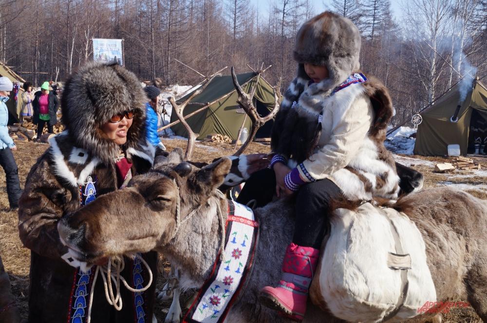 Праздник проходит в селе Арка Охотского района раз в год
