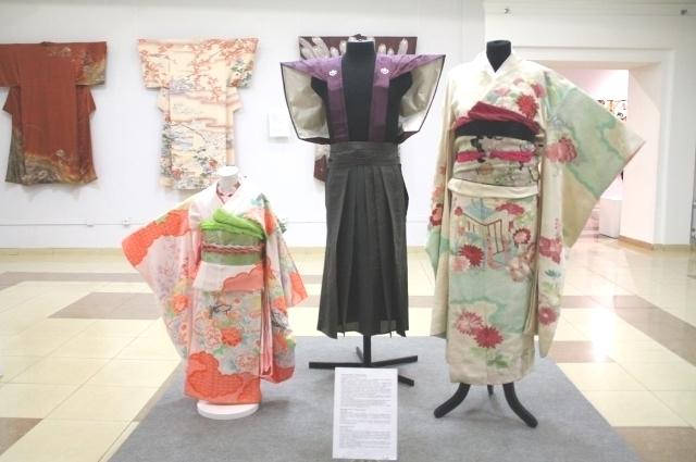 Рассказ об одном кимоно может составлять четверть часа.