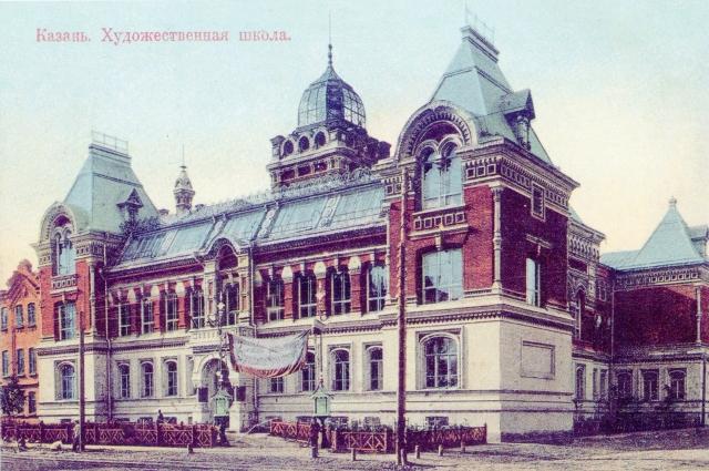 До женитьбы Фешин не только работал, но и жил в мастерской Казанской художественной школы.