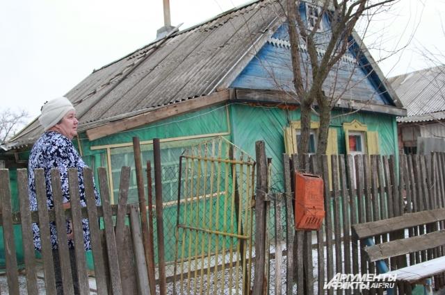 Вера Федан построила дом с мужем 60 лет назад, после того, как родилась дочь — Светлана.