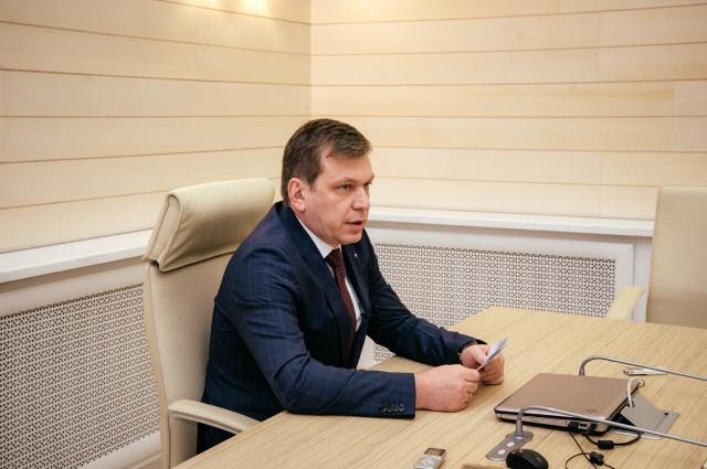 Управляющий Омским отделением Сбербанка Игорь Меркулов.