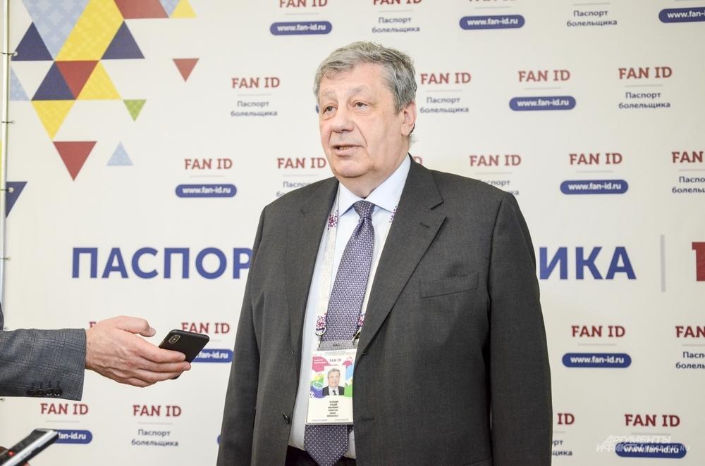 Член Совета федерации РФ от Свердловской области Аркадий Чернецкий.