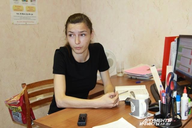 Оксана Державина уверена, что бездомной можно помочь, нужна её личная инициатива.
