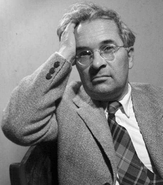 Народный артист СССР Максим Штраух. 1963 г.