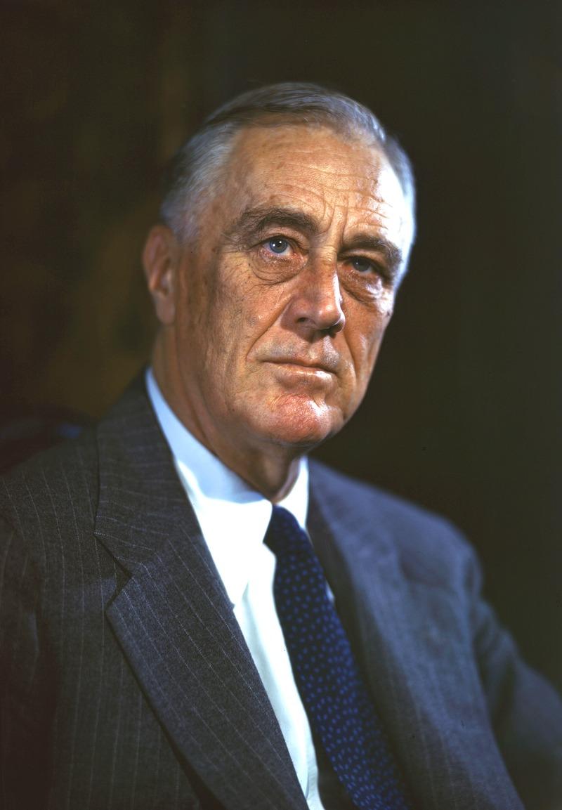 Франклин Делано Рузвельт.