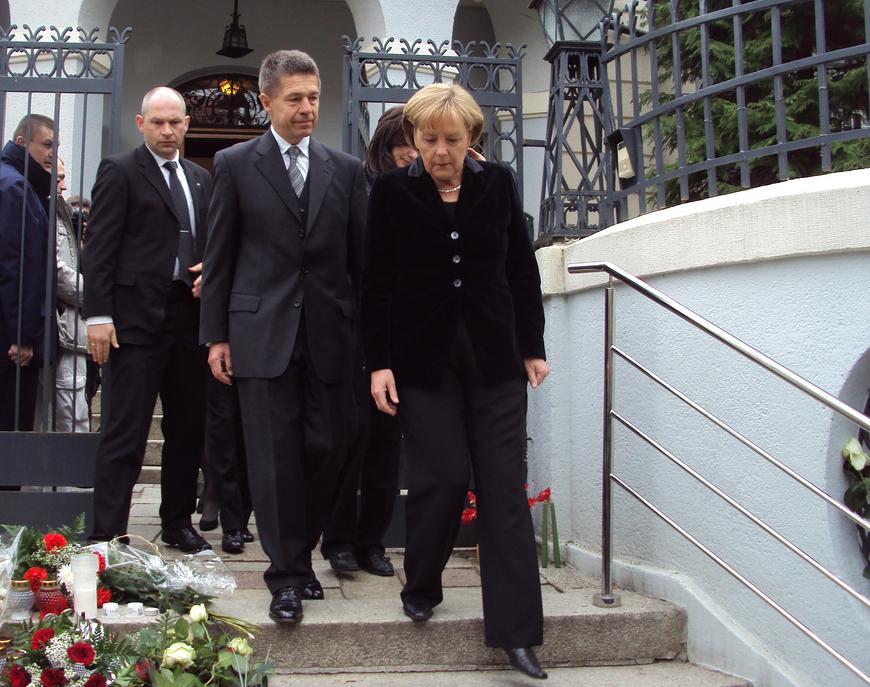 Ангела Меркель с мужем Иоахимом Зауэром.