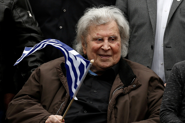 Микис Теодоракис.