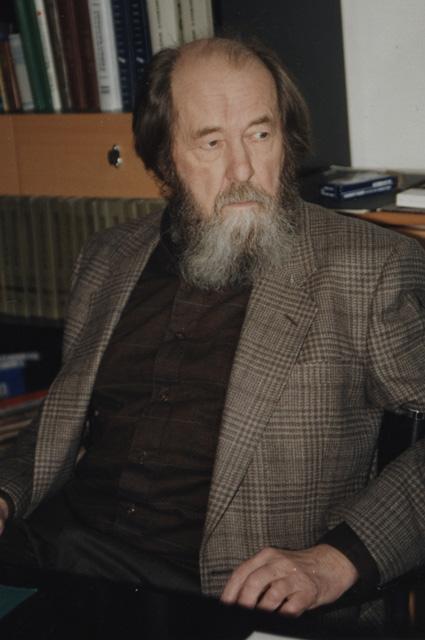 Александр Солженицын, 1995 год