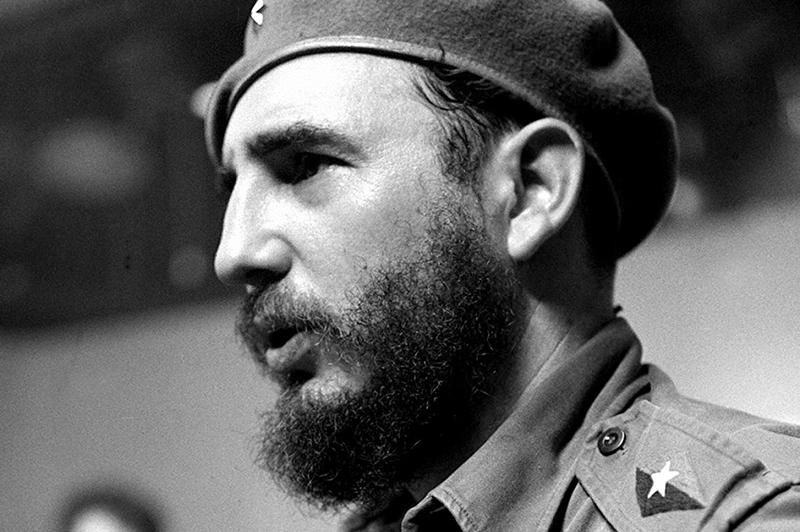 Фидель Кастро. Дата съёмки неизвестна
