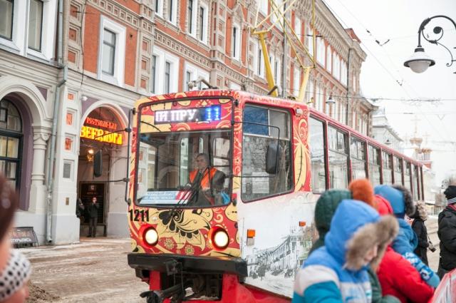 Экскурсионный трамвай в Нижнем Новгороде окупается.