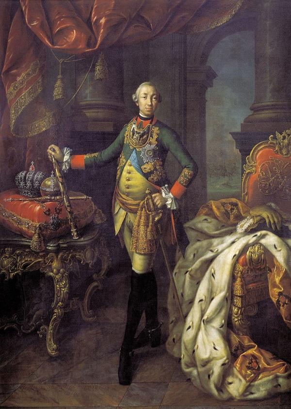 Пётр III открыто говорил, что собирается развестись с супругой, чтобы жениться на своей фаворитке Елизавете Воронцовой.