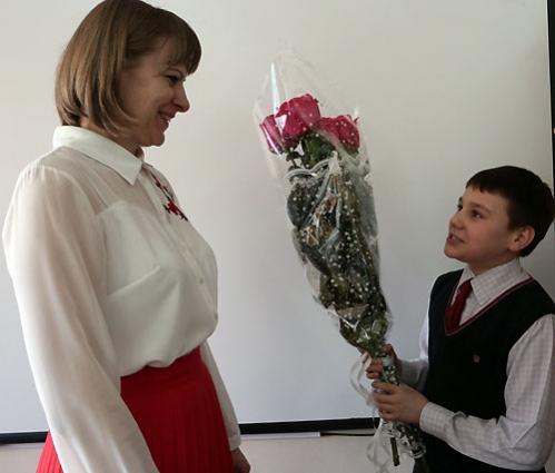 По мнению победительницы, учитель – это человек, который безоговорочно любит своих детей.