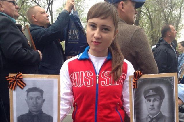 Ирина Филиппова много узнала о своих прадедах на сайте «Бессмертный полк».