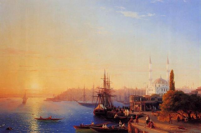 Иван Айвазовский, «Вид Константинополя и Босфора»