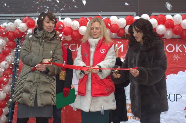 Открытие магазина стало подарком для жителей микрорайона.