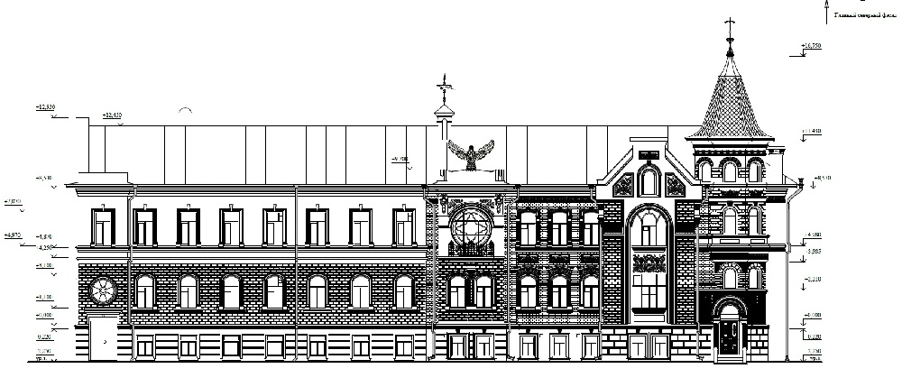 На фасаде переделают детали, несоответствующие оригиналу.