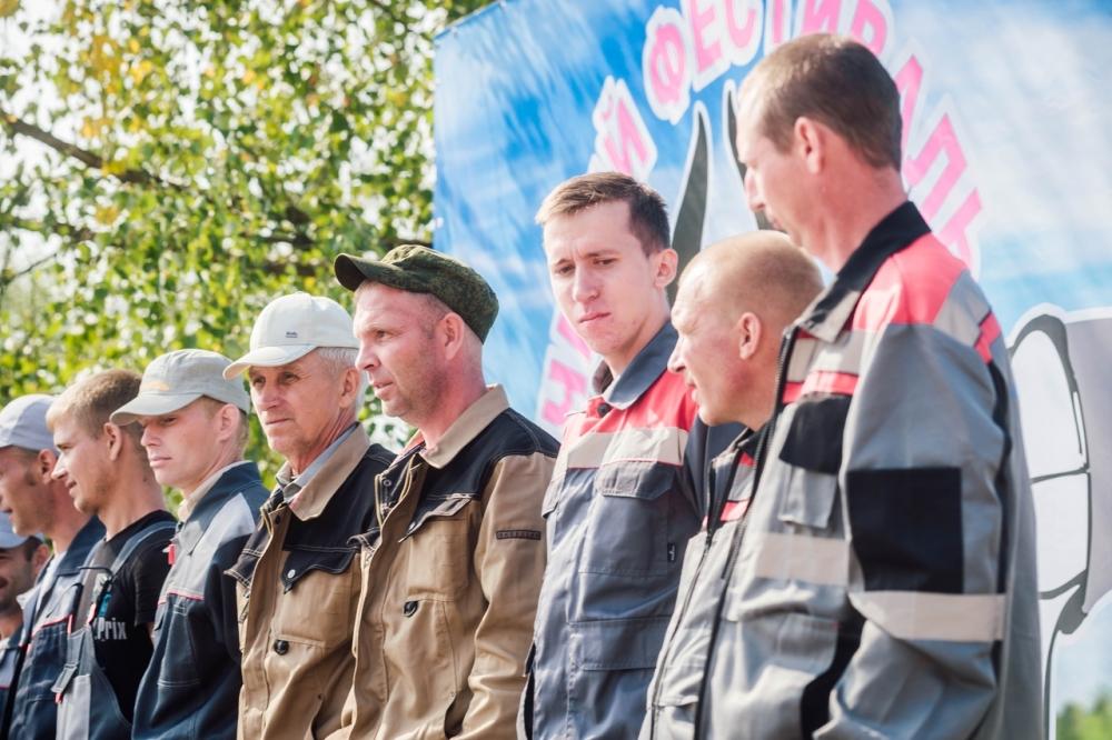 Лучшие трактористы Олонецкого района