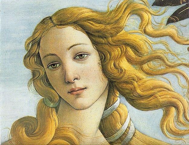 «Рождение Венеры» Сандро Боттичелли. 1482—1486