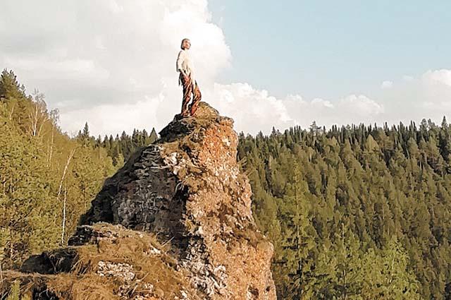 Скала на Вакутином камне – идеальное место для фото.