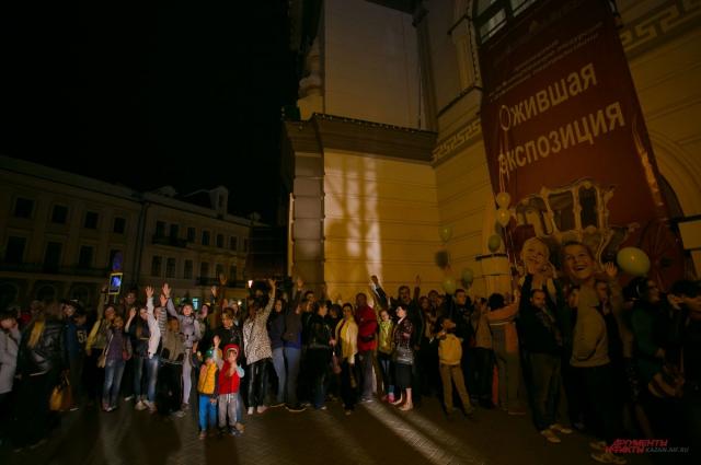 Ночь в Нацмузее РТ посетили 30 тыс. человек.