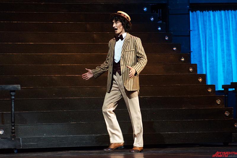 Молодой артист Донецкого театра оперы и балета Григорий Шафир трудится на подмостках всего полгода и выезд в Пермь стал для него первым