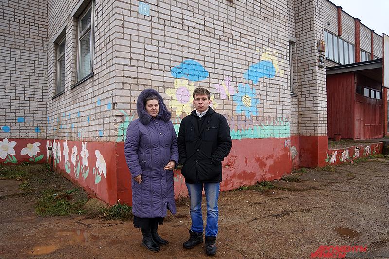 Татьяна вместе со старшим сыном.