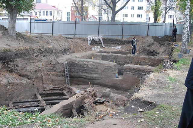 Раскопки в историческом центре Самары будут продолжены.